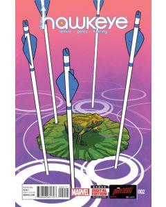 All New Hawkeye 1st Series (2015) #   2 (7.0-FVF)