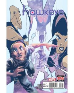 All New Hawkeye 1st Series (2015) #   5 (8.0-VF)