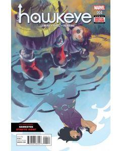 All New Hawkeye 2nd Series (2015) #   4 (9.0-NM)