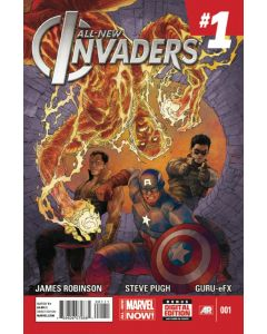 All New Invaders (2014) #   1 (8.0-VF)