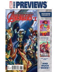 All New All Different Marvel November Previews (2015) #   3 (8.0-VF)