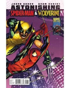 Astonishing Spider-Man and Wolverine (2010) #   1 Cover A (6.0-FN)
