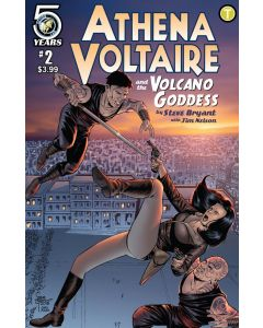 Athena Voltaire and the Volcano Goddess (2016) #   2 (7.0-FVF)