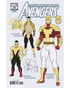 Avengers (2018) #  40 Cover B 1:10 (9.2-NM)