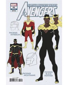 Avengers (2018) #  41 Cover B 1:10 (9.2-NM)