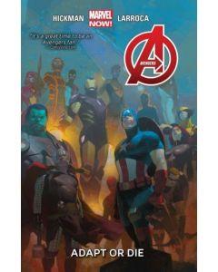 Avengers Adapt Or Die HC (2015) #   5 1st Print (9.0-VFNM)