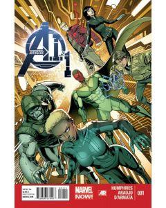 Avengers A.I. (2013) #   1 (8.0-VF)