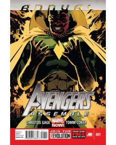 Avengers Assemble (2012) Annual #   1 (8.0-VF)