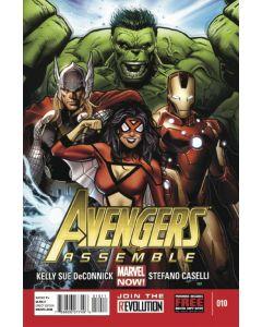 Avengers Assemble (2012) #  10 (8.0-VF)