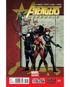 Avengers Assemble (2012) #  12 (6.0-FN)