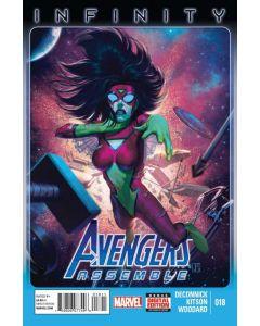 Avengers Assemble (2012) #  18 (8.0-VF)