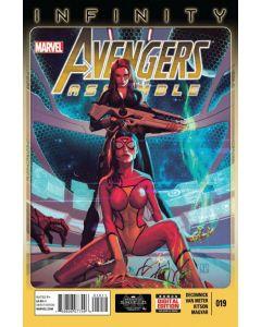 Avengers Assemble (2012) #  19 (7.0-FVF)
