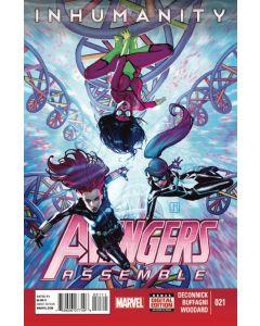Avengers Assemble (2012) #  21 (8.0-VF) Inhumanity