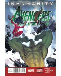 Avengers Assemble (2012) #  22 (8.0-VF) Inhumanity