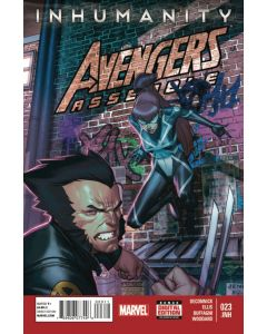 Avengers Assemble (2012) #  23 (7.0-FVF) Inhumanity