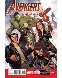 Avengers Assemble (2012) #  25 (8.0-VF)