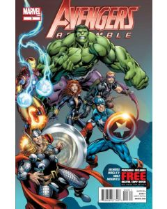 Avengers Assemble (2012) #   3 (6.0-FN)