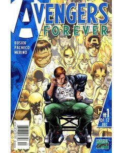 Avengers Forever (1998) #   1 (8.0-VF) 1st appearance Captain Marvel (Genis Vell)