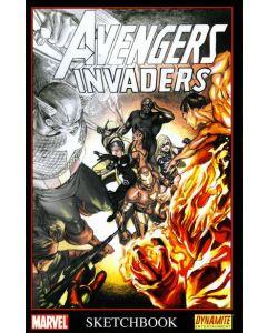 Avengers Invaders Sketchbook (2008) #   1 (8.0-VF) Alex Ross Cover One Shot