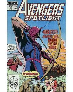 Avengers Spotlight (1987) #  21 (8.0-VF)