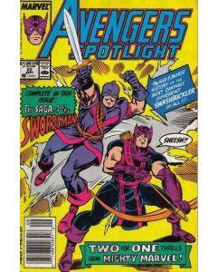 Avengers Spotlight (1987) #  22 (5.0-VGF)