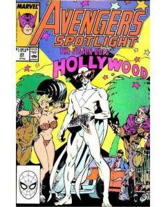 Avengers Spotlight (1987) #  23 (8.0-VF)