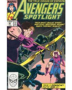 Avengers Spotlight (1987) #  24 (6.0-FN)