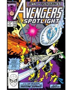 Avengers Spotlight (1987) #  27 (6.0-FN)