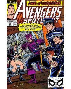 Avengers Spotlight (1987) #  28 (6.0-FN)
