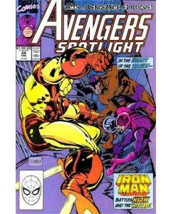 Avengers Spotlight (1987) #  29 (7.0-FVF)