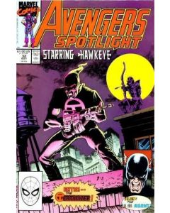 Avengers Spotlight (1987) #  32 (6.0-FN)