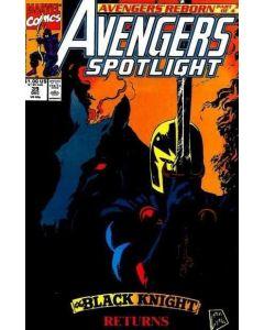 Avengers Spotlight (1987) #  39 (5.0-VGF)