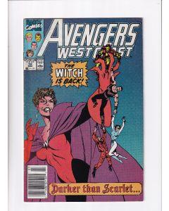 Avengers West Coast (1985) #  56 Newsstand (5.0-VGF) (1101601)