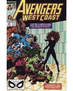 Avengers West Coast (1985) #  48 (7.0-FVF)