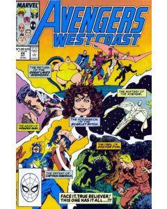Avengers West Coast (1985) #  49 (7.0-FVF)