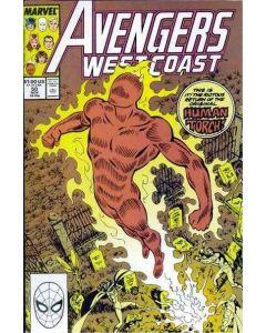 Avengers West Coast (1985) #  50 (7.0-FVF)