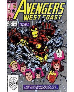 Avengers West Coast (1985) #  51 Mark Jewelers Variant (4.0-VG)