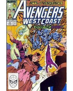 Avengers West Coast (1985) #  53 (6.0-FN)