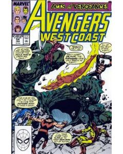 Avengers West Coast (1985) #  54 (7.0-FVF)