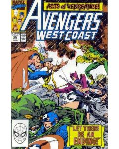 Avengers West Coast (1985) #  55 (5.0-VGF) 1st cameo appearance Dark Scarlet Witch