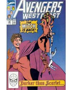 Avengers West Coast (1985) #  56 (7.0-FVF) Dark Wanda Scarlet Witch