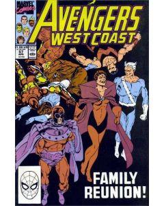 Avengers West Coast (1985) #  57 (8.0-VF)