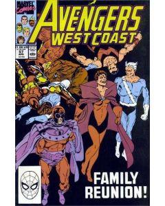 Avengers West Coast (1985) #  57 (7.0-FVF)
