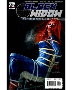 Black Widow The Things They Say About Her (2005) #   5 (8.0-VF)