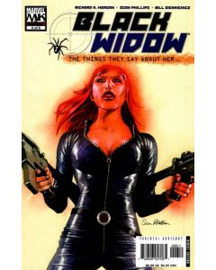 Black Widow The Things They Say About Her (2005) #   6 (8.0-VF)
