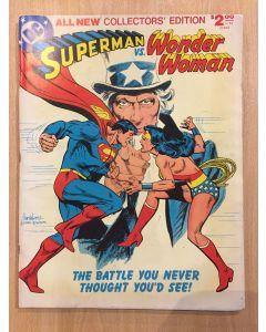 Superman vs. Wonder Woman (1977) #   C-54 (6.0-FN) (1187599) DC Treasury Edition