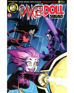 Danger Doll Squad (2017) #   2 Cover E (7.0-FVF) Limited to 2000