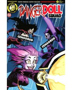 Danger Doll Squad (2017) #   2 Cover F Risque (9.2-NM) Limited to 2500