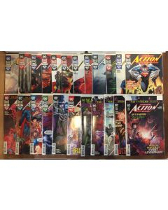 Action Comics (2016) # 1001-1023 (9.0-VFNM) COMPLETE SET RUN