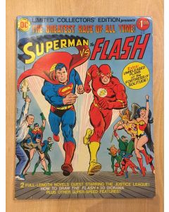 Superman vs. the Flash (1976) #   C-48 (5.0-VGF) (1187568) DC Treasury Edition